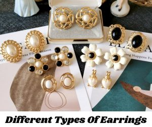 Different Types Of Earrings With Names